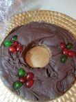 CHRISTMAS HOLLY FUDGE