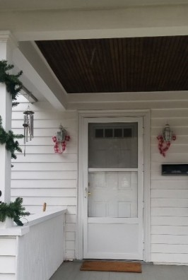 CHRISTMAS PORCH 2018